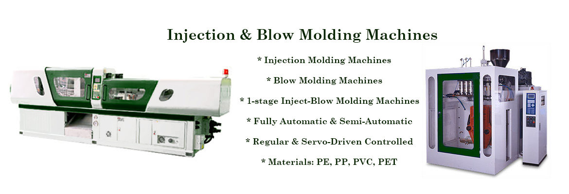 Injection & Blow Molding Machines
