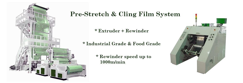 Pre-Stretch Blown Film Plants